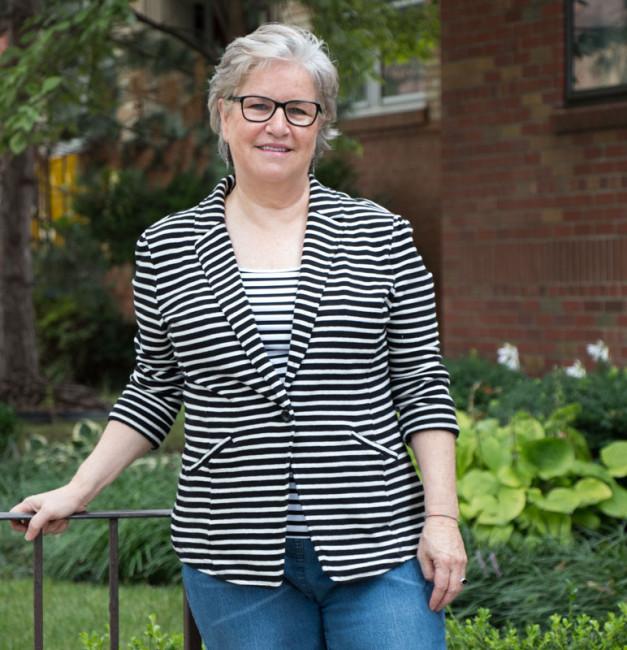 Janice Scherer - Stripy Arms creator & artist