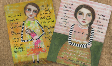 Print & Cards by Janice Scherer - Stripy Arms