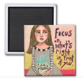 Focus<br/>(on a magnet)